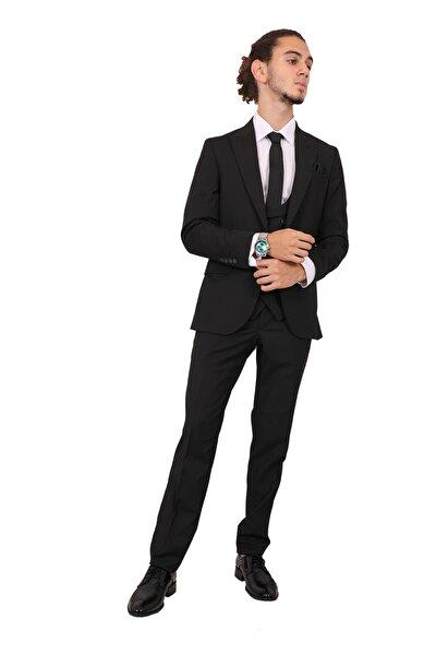 Erkek Siyah Takım Elbise