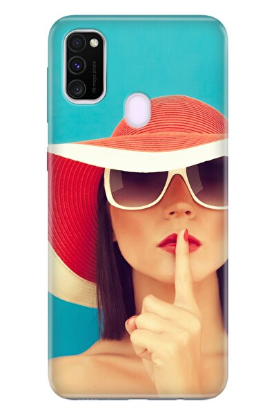 Samsung Galaxy M21 Kılıf Temalı Hd Desenli Silikon - Yaz Geldi