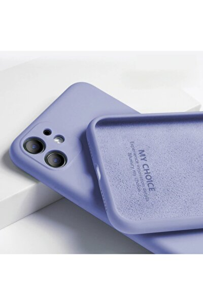 Apple Iphone 11 Kılıf 3d Kamera Korumalı Lansman Içi Kadife Yumuşak Silikon