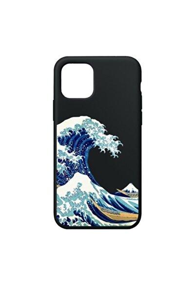 Waves Premium Siyah Iphone 11 Telefon Kılıfı