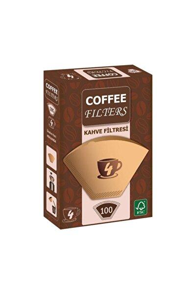 Kahve Filtre Kağıdı 1x4 80 Ad