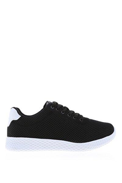 Siyah Beyaz Kadın Sneaker AREL MESH W