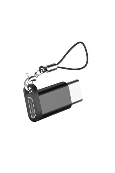 Alüminyum Alaşım Mikro Usb- Tip C Adaptör Dönüştürücü