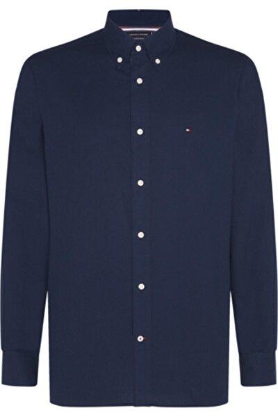 Erkek Lacivert Cotton Cashmere Shırt Gömlek