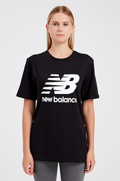 Spor T-Shirt - NB VOM TEE - V-WTT916-BK