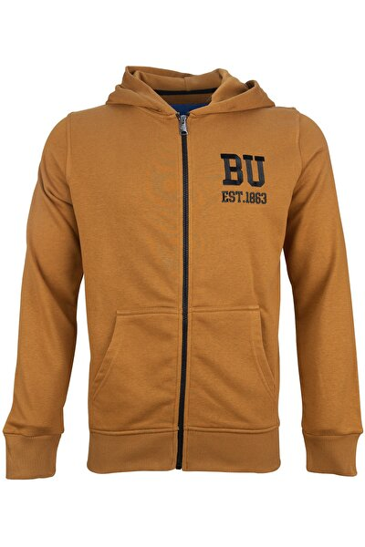 BU1863 Tam Fermuarlı Sweatshirt