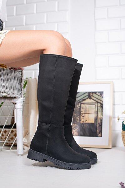 Kadın Siyah Çizme Lmyn0005