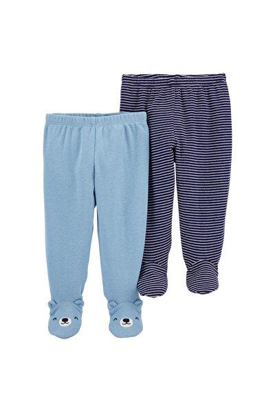 Erkek Bebek Layette 2'Li Patikli Pantolon 1ı733710
