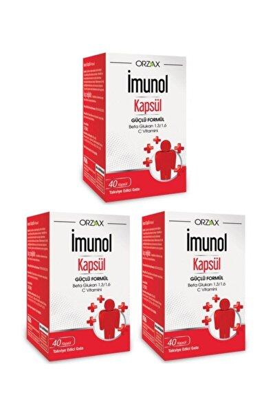 Imunol 40 Kapsül 3 Kutu