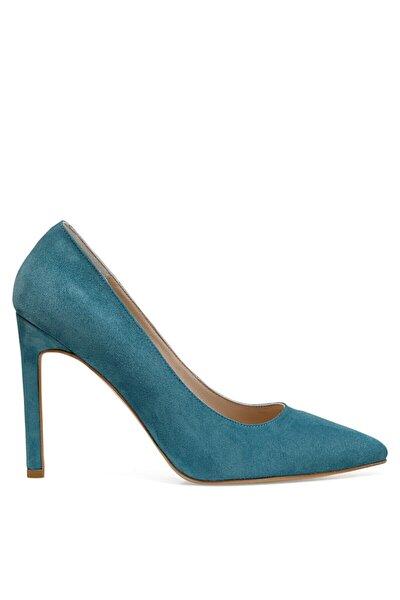 SABINE2 Mavi Kadın Hakiki Deri Topuklu Ayakkabı 100526624