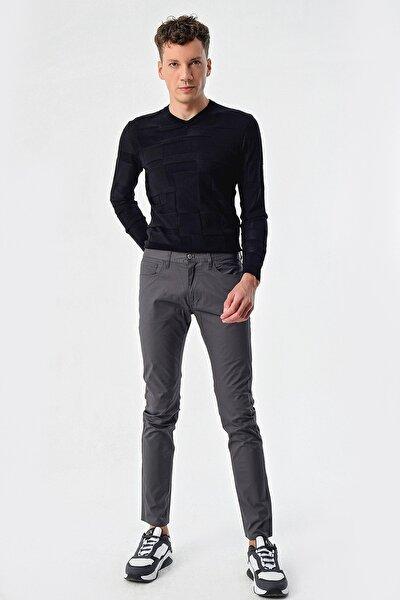 Erkek Gri Jeans