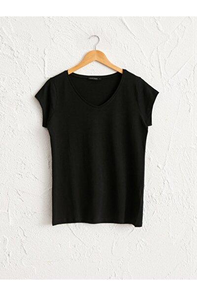 Kadın Yeni Siyah Tişört 0WAT43Z8