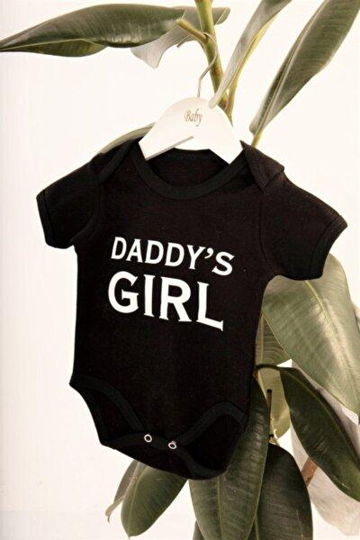 Daddy's Girl Siyah Zıbın Body