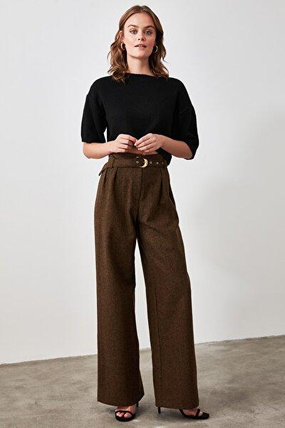 Kahverengi Kemerli Pantolon TWOAW21PL0345