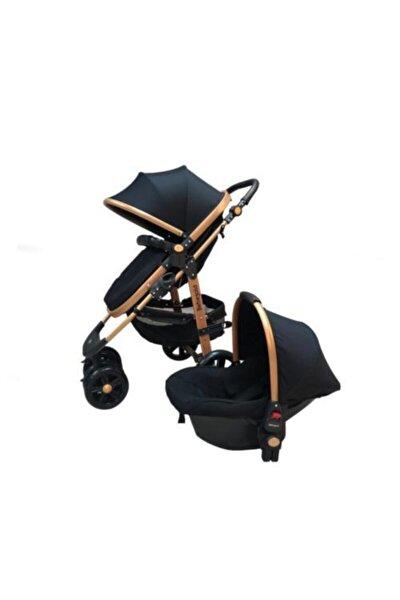 Siyah Travel Sistem Bebek Arabası Puset Bg 561