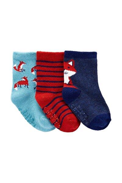 Erkek Bebek Mavi Çorabı 3lü 1ı985510