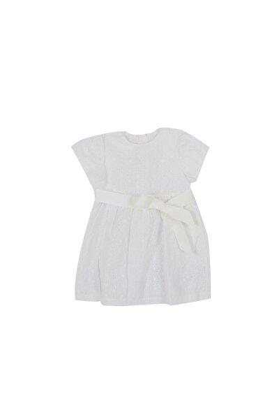 Çocuk Beyaz  Günlük Elbise 09093380 033