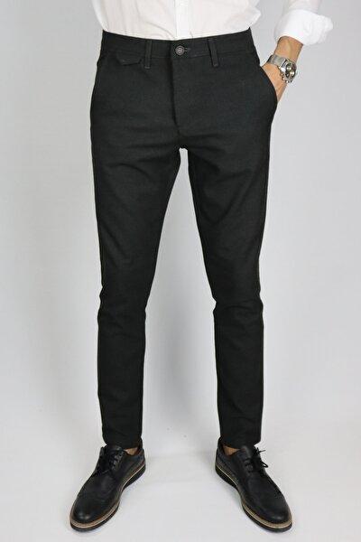 Erkek Gri Kışlık Poliviskon Pantolon