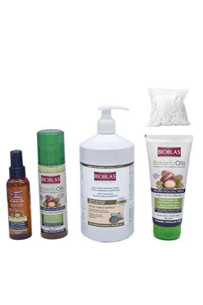 100 ml Argan Bakım Yağı 200 ml Sıvı Saç Kremi 1000 ml Sarımsaklı Şampuan 200ml Yağlı Saç Kremi Bone
