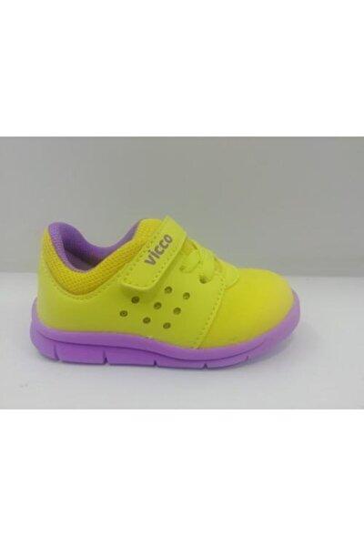 Unisex Bebek Sarı Spor Ayakkabı