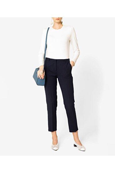 Kadın Lacivert Basic Pantolon Bs32029223