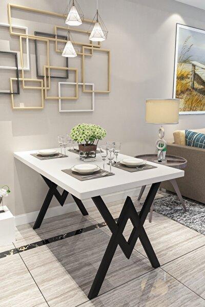 Parla Mutfak Yemek Masası Beyaz