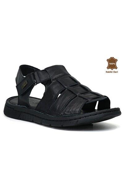 2613 Hakiki Deri Erkek Sandalet