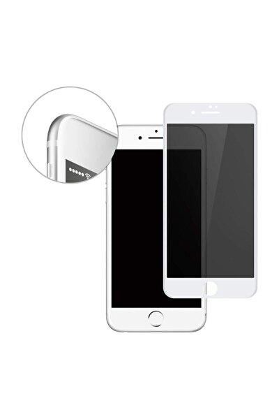 Apple Iphone 7 Plus 8 Plus Gizli Hayalet Cam 5d Kırılmaz Cam Beyaz 00574_r1
