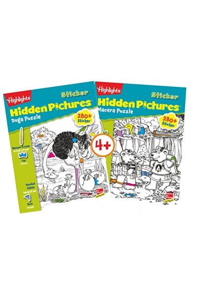 Sticker Hidden Pictures 2 Kitap