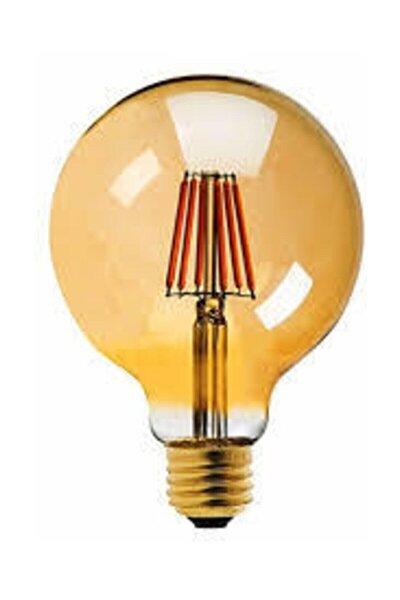 G95 Filament Edison Tip Rustik Ampul 6 Watt Led Ampul