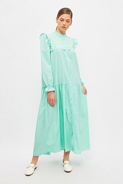 Mint Hakim Yaka Tesettür Elbise TCTSS21EB0002