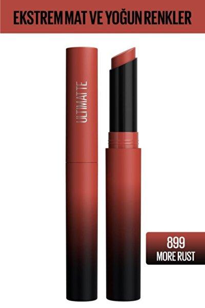 Color Sensational Ultimatte Mat Ruj- 899 More Rust Kırmızı