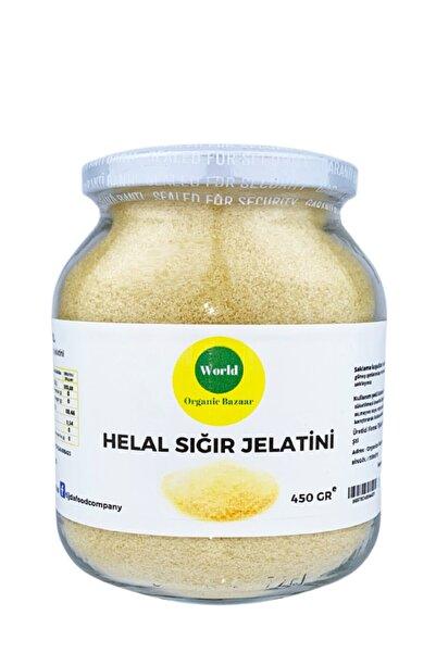Toz Sığır Jelatin ( % 100 Saf Sığr Domuz Içermez) 450 gr Helal Sertifikalı
