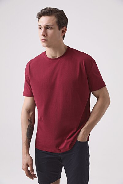 Oversize Bordo T-shirt