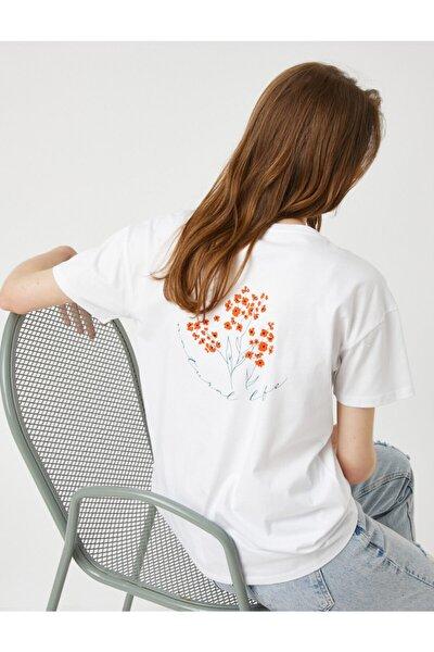 Kadın Kırık Beyaz T-Shirt
