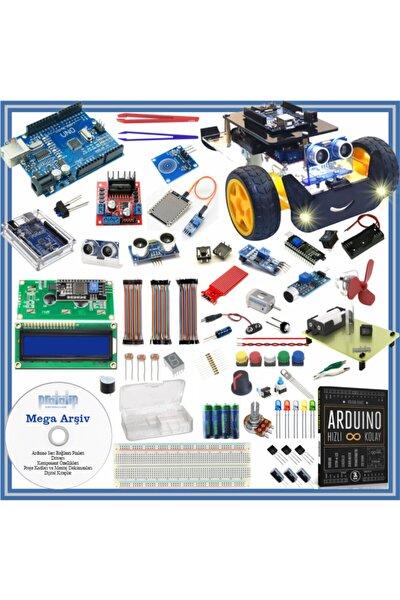 Arduino Başlangıç Seti Uno R3 Turbo V2. 112 Parça 359 Adet