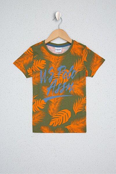 Yesıl Erkek Çocuk T-Shirt