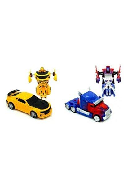 Bumblebee Optimus Prime Çek Bırak Robot Transformers Oyuncak Arabalar