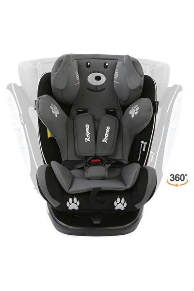 Dog 360 ° Dönebilir Yatabilir 0-36 Kg Oto Koltuğu Isofıx/sıp/latch - Gri