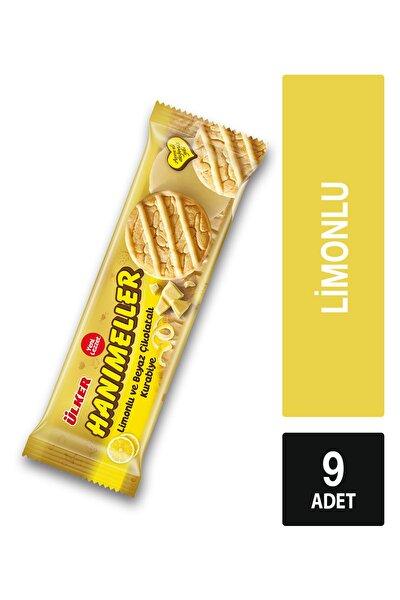 Hanımeller Limonlu Ve Beyaz Çikolatalı Kurabiye 9 Paket 138 gr
