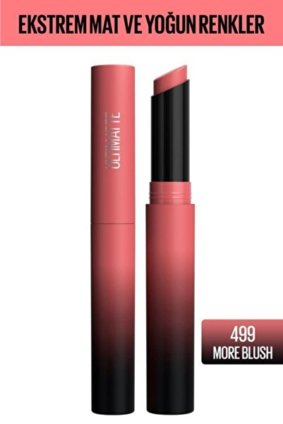 Color Sensational Ultimatte Mat Ruj- 499 More Blush Pembe