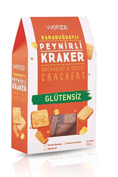 Glütensiz Karabuğdaylı Peynirli Kraker 50 gr