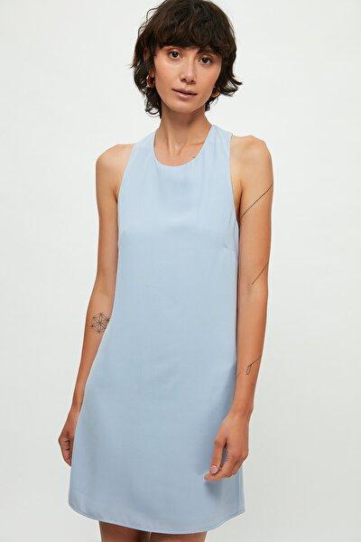 Kadın Gök Mavisi Elbise 53010608