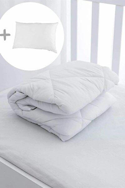 Pamuk Bebek Yorganı + 1 Pamuk Yastık