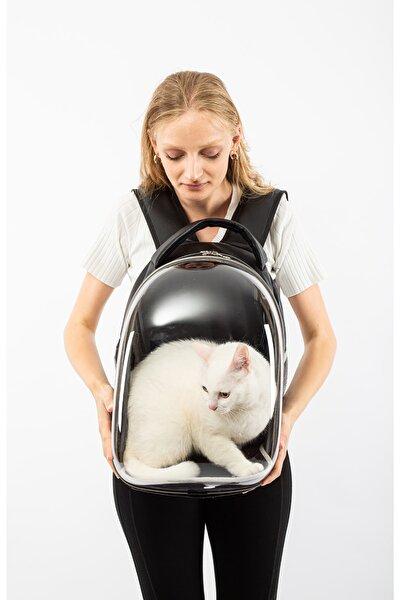 Köpek - Kedi Taşıma Çantası Şeffaf Astronot