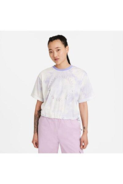 Sportswear Icon Clash Light Thistle Kadın T-shirt