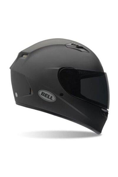 Qualifier Solid Mat Siyah Motosiklet Kaskı Full Face