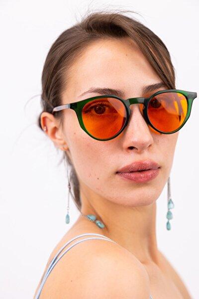 Amora Green Orange Güneş Gözlüğü