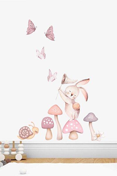 Yıldız Avcısı Tavşan Duvar Sticker