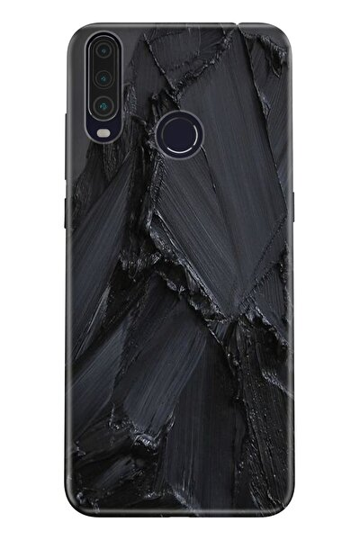 Gm 20 Pro Uyumlu Pure Modern Desenli Silikon Kılıf Siyah Beton